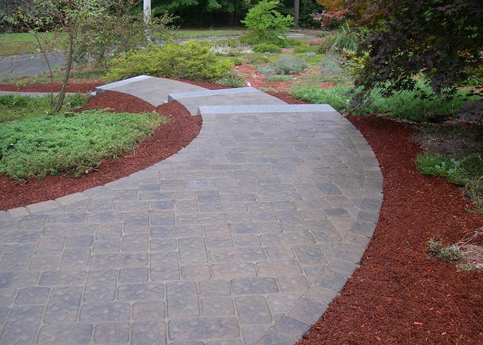 distinctive stoneworks - walkway