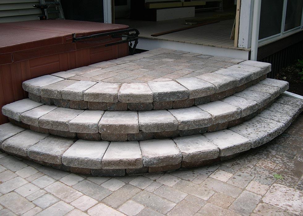 distinctive stoneworks - steps